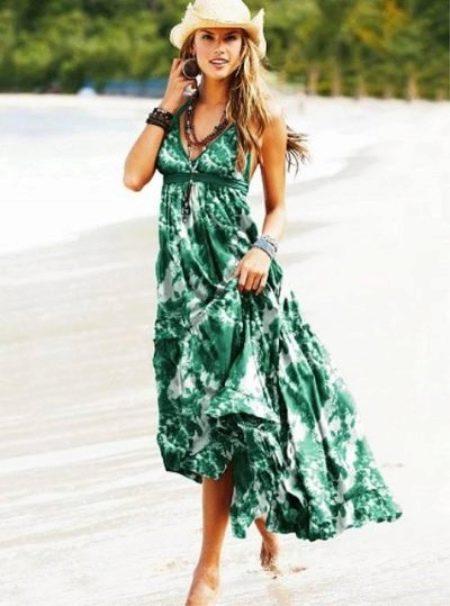 Морские платья и сарафаны