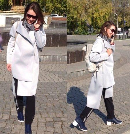 пальто из неопрена фото