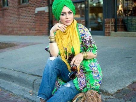 Шапка-чалма (62 фото): с чем носить, из ткани, из трикотажа, английской резинкой, кому идет шапка-тюрбан