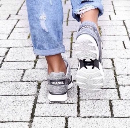 Chanel кроссовки оригинал