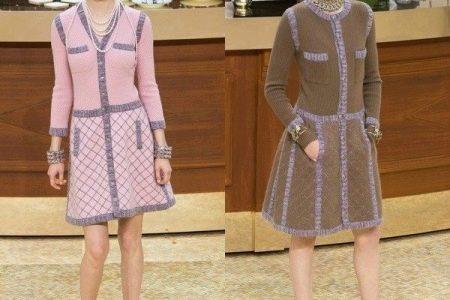 Для любительниц модерна в одежде Шанель предлагает как варианты с неклассическими  юбками, например, в складку, так и комплекты с шортами или с узкими ... abd781b5037
