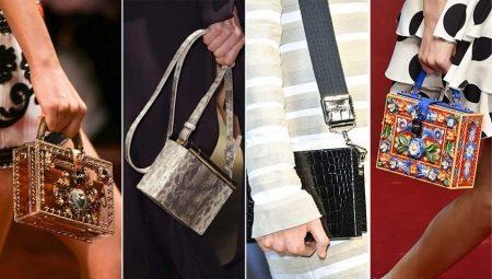 814f490cd3b0 Женственные сумки-коробки отличаются строгой геометрической форме. Такие клатчи  идеально подойдут для походов на выставку или в музей.