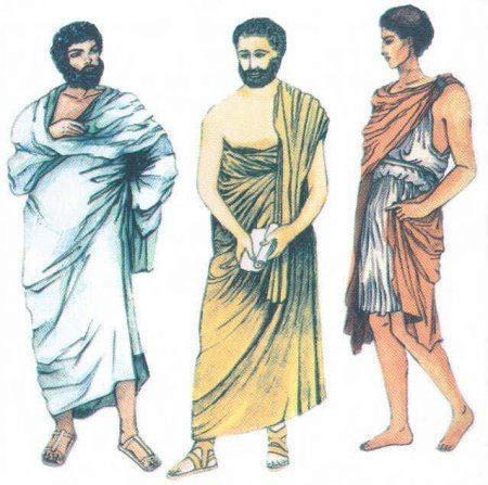 Греческий костюм женский своими руками