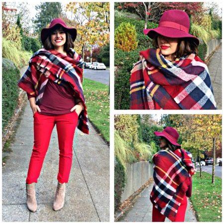 Шарф-плед (53 фото): как и с чем правильно носить большой шарф-плед Zara