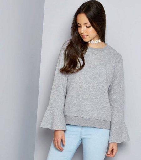 свитер для девочки 111 фото детские шерстяные модели реглан для