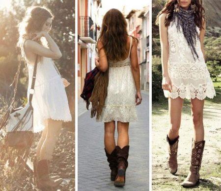 Ковбойские платья