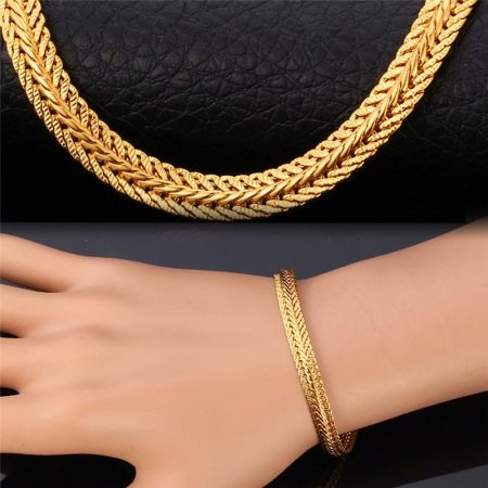 Color me happy  Fashion Chunky gold necklaces Fashion