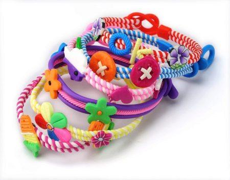 детские браслеты 82 фото модели для девочек и для новорожденных с