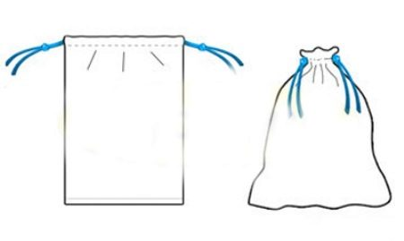 Как сшить карман мешок 105