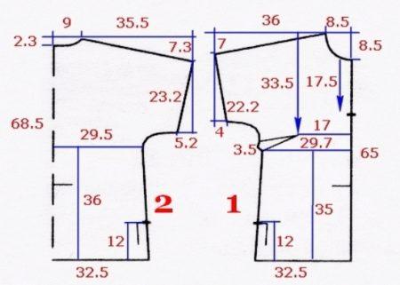 Как сшить стильную женскую футболку по выкройке