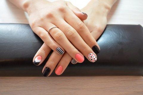 Как сделать миндальную форму ногтей на короткие