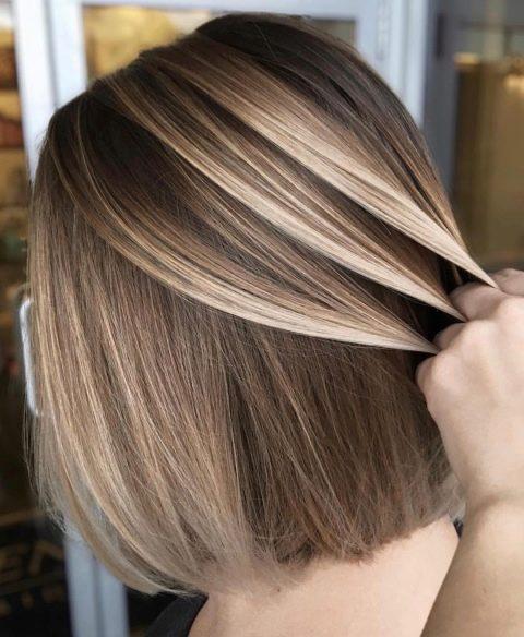 Модное мелирование волос в 2019 году, выбираем самый модный цвет и ... | 584x480