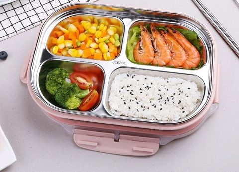 Контейнеры для еды с подогревом (24 фото): особенности пищевых ...