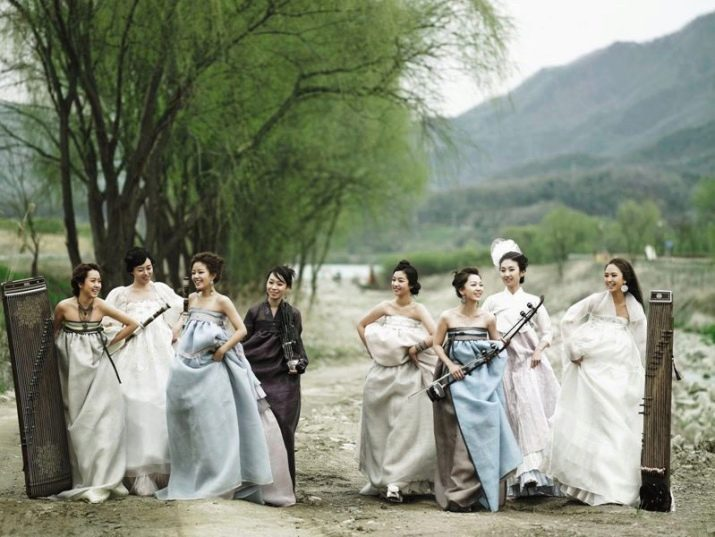 Свадебные платья Hanbok Lynn