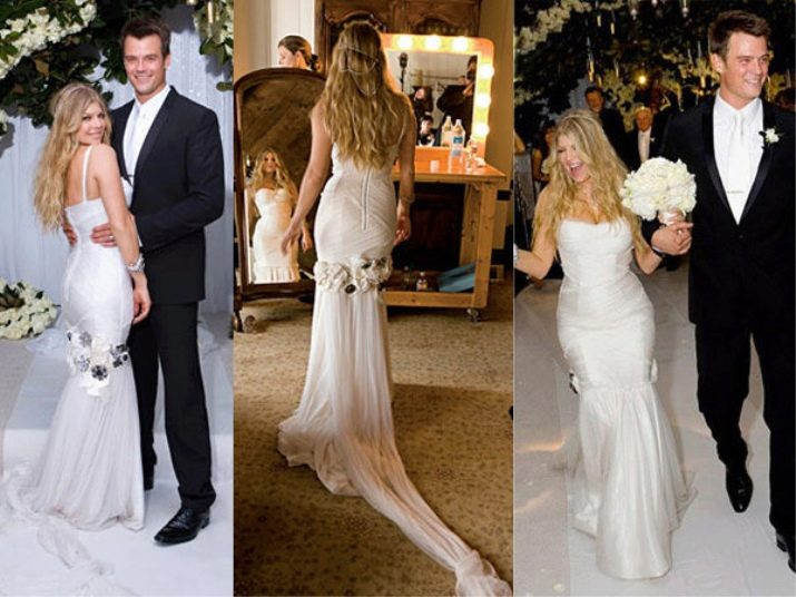 Свадебное платье Ферджи