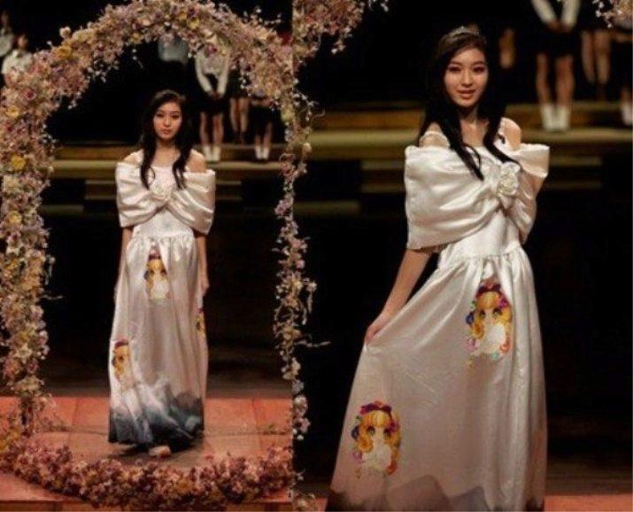 Страшное свадебное платье с анимэ