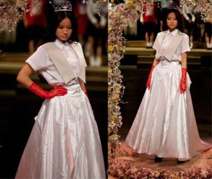 Свадебное ужасное платье от Jenny Fax
