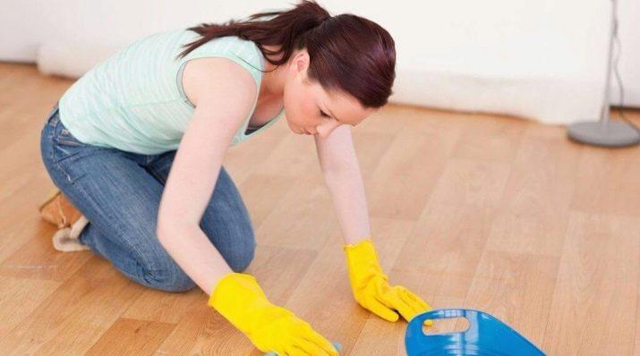 Чем отмыть грунтовку с плитки на полу в домашних условиях: способы