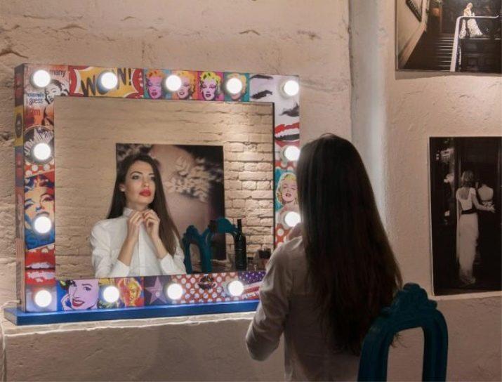 Как сделать гримерное зеркало фото 782