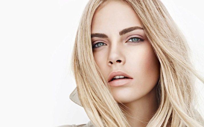 Что делать блондинке с темными бровями