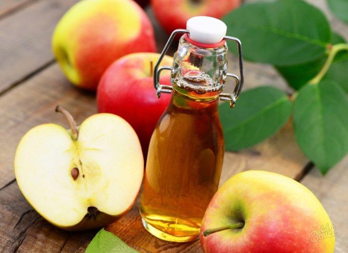 Можно протирать лицо яблочным уксусом