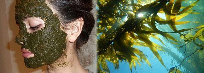 Уход за кожей с морские водоросли