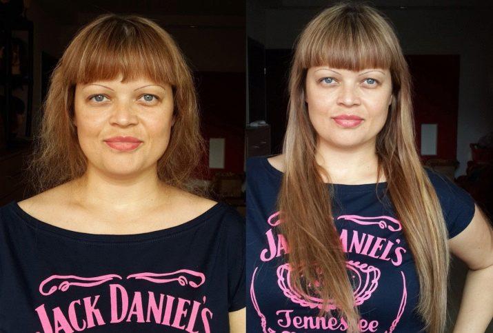 влюбом случае нарощенная челка фото до и после для имени катя