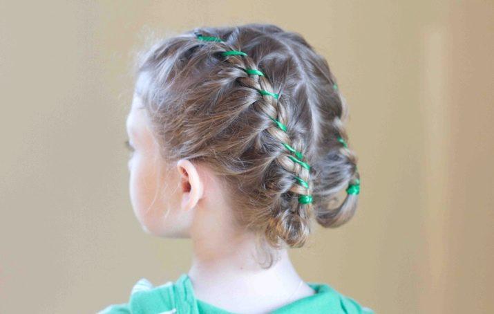 Прически для девочек с волосами средней длины (83 фото): как сделать красивые детские прически пошагово своими руками в домашних условиях?