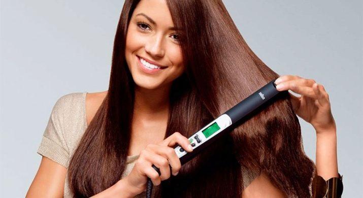 Чем можно выпрямить волосы