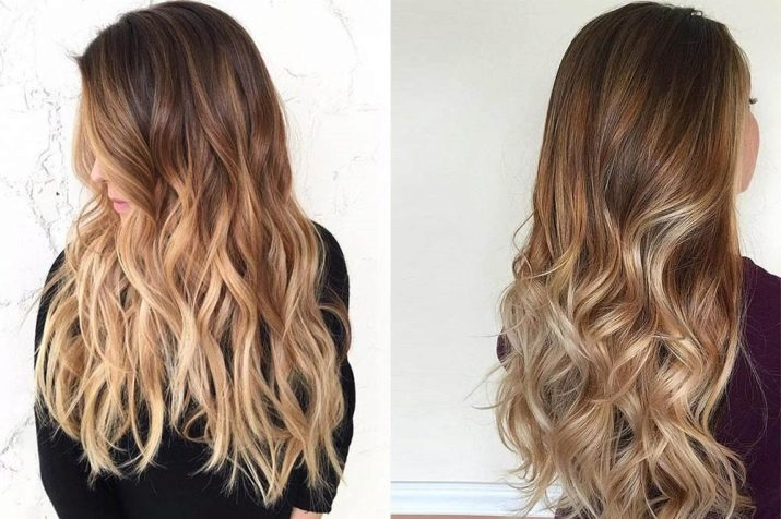 Покраска волос в темные цвета
