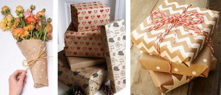 Как упаковать подарки: выбор оберточной бумаги