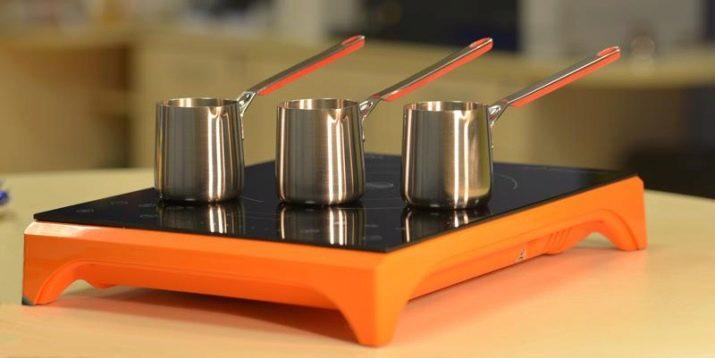 Какую турку для индукционной плиты выбрать – требования к материалам и устройству дна