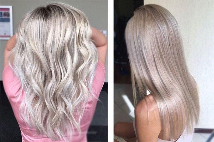 Холодный цвет волос для блондинок