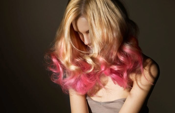 Палитра цветов блонд для волос