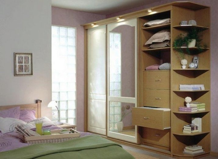 фото шкафов в спальню узкий отличие