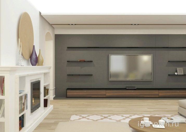 На какой высоте вешать телевизор на стену своими руками
