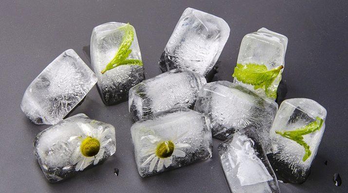 Умывание льдом по утрам польза и вред